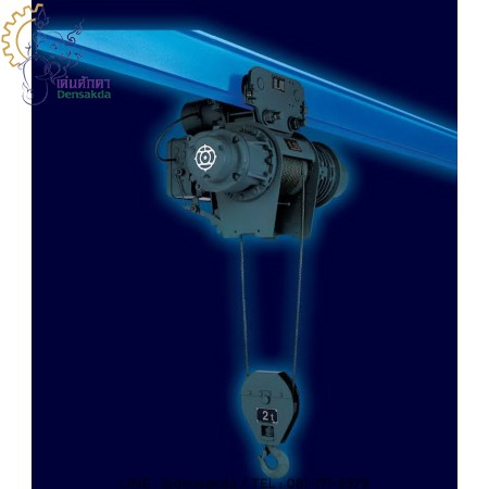 **รอกสลิงไฟฟ้า HITACHI 2,000 Kg./380 V. Model : 2 AM-T