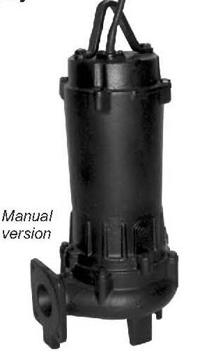 **ปั๊มน้ำอีบาร่า EBARA Submersible Pump Model 50DVS5.4S (มีลูกลอย 2 ลูก)