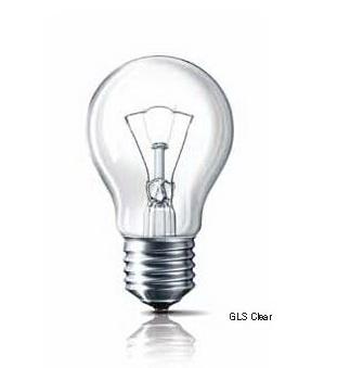 **หลอดไฟฟิลิปส์ หลอดแก้วใสรุ่นมาตรฐาน GLS Clear