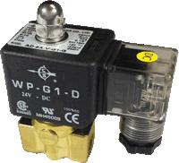 วาล์วทองเหลืองที่มีคอยล์ไฟฟ้า สำหรับใช้งานทั่วไป