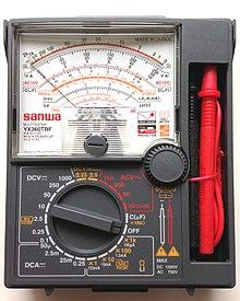 มิเตอร์เข็มสำหรับทดสอบวาล์วไฟฟ้า