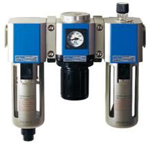 ชุดกรองลมดักน้ำแอร์แทค AirTac แบบ 3 ตัวเรียง รุ่น GC300-08
